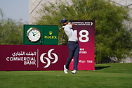 Adrian Otaegui (ESP) on the 18th during Round 1 of the Commercial Bank Qatar Masters 2020 at the Education City Golf Club, Doha, Qatar . 05/03/2020<br /> Picture: Golffile | Thos Caffrey<br /> <br /> <br /> All photo usage must carry mandatory copyright credit (© Golffile | Thos Caffrey)