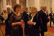 KATE MAVOR; JOYCE MACKIE, The National Trust for Scotland Mansion House Dinner. Mansion House, London. 16 October 2013