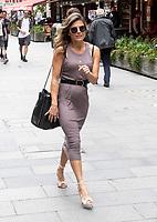 Zoe Hardman spotted leaving  Hart radio london 4th july 2020 photo by Brian Jordan