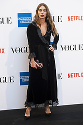 September 13, 2018 - Madrid, Spain - Minerva Portillo attends to photocall of Vogue Fashion Night Out 2018 in Madrid, Spain. September 14, 2018. (Credit Image: © Coolmedia/NurPhoto/ZUMA Press)
