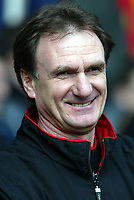 Liverpool's assistant manager Phil Thompson takes sole charge of the Reds in the absence of GŽrard Houllier against Middlesbrough during the Premiership  match at Anfield, Liverpool, Saturday, February 8th, 2003.<br /><br />Pic by David Rawcliffe/Propaganda<br /><br />Any problems call David Rawcliffe on +44(0)7973 14 2020 or email david@propaganda-photo.com - http://www.propaganda-photo.com