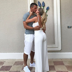 """Lukas Podolski releases a photo on Instagram with the following caption: """"Picture by Louis Podolski \ud83d\udcf8\ud83d\ude0a#holidays \u2600\ufe0f\ud83d\udc4d\ud83c\udffb\ud83d\udc90"""". Photo Credit: Instagram *** No USA Distribution *** For Editorial Use Only *** Not to be Published in Books or Photo Books ***  Please note: Fees charged by the agency are for the agency's services only, and do not, nor are they intended to, convey to the user any ownership of Copyright or License in the material. The agency does not claim any ownership including but not limited to Copyright or License in the attached material. By publishing this material you expressly agree to indemnify and to hold the agency and its directors, shareholders and employees harmless from any loss, claims, damages, demands, expenses (including legal fees), or any causes of action or allegation against the agency arising out of or connected in any way with publication of the material."""