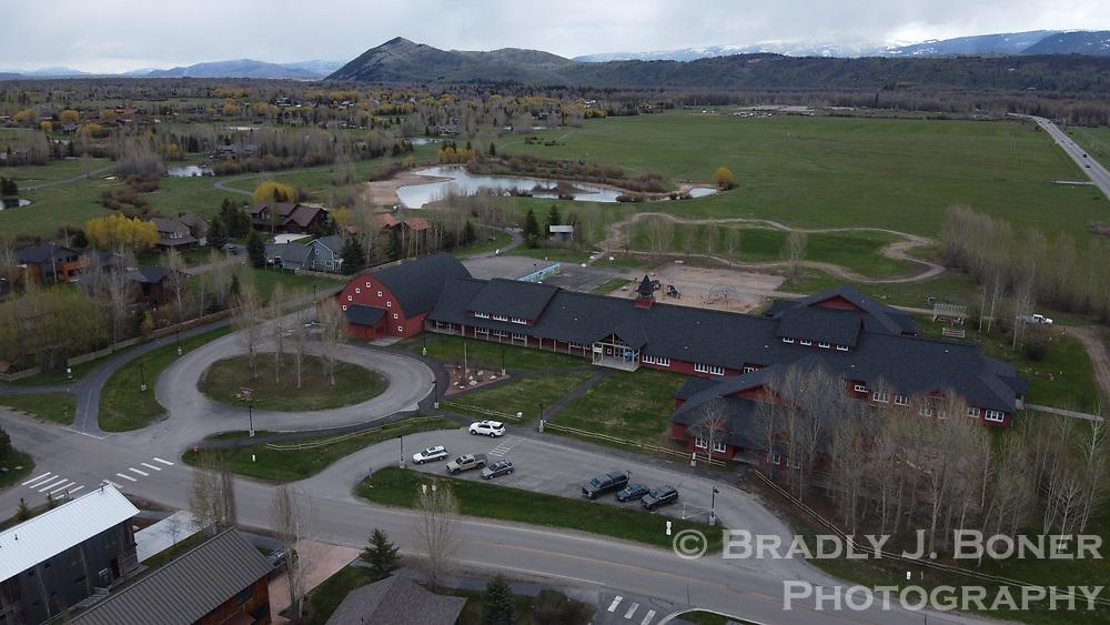 Aerial photograph of Wilson Elementary School