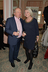 JOHN SERGEANT and KATE ADIE at the Oldie Magazine's Oldie of The Year Awards held at Simpson's In The Strand, London on 4th February 2014.