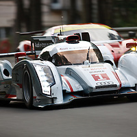 #1, Audi R18 e-tron quattro, Audi Sport Team Joest (drivers: Fässler/Lotterer/Treluyer) at Le Mans 24H 2013