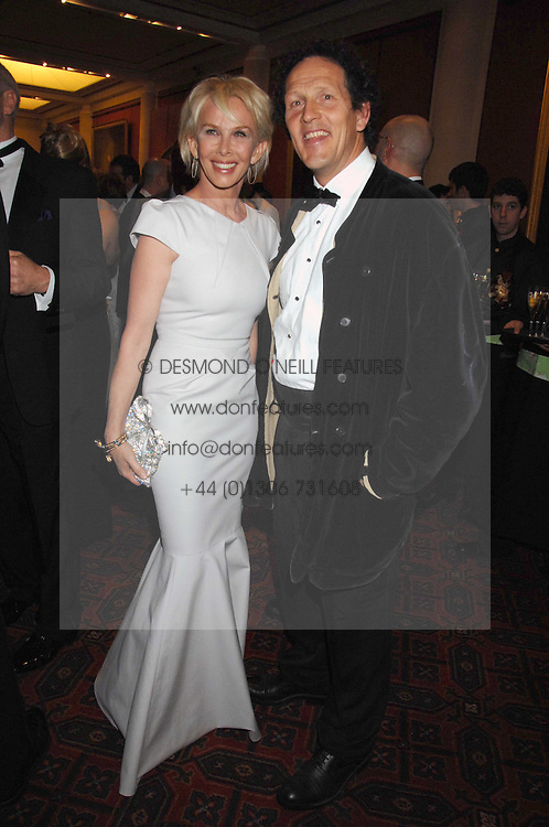 TRUDIE STYLER and MONTY DON at the Feast of Albion a sumptious locally-sourced banquet in aid of The Soil Association held at The Guildhall, City of London on 12th March 2008.<br /><br />NON EXCLUSIVE - WORLD RIGHTS