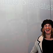 NLD/Hilversum/20100218 - Opening nieuwe tentoonstelling InScène bij Beeld en Geluid Hilversum, Christine van Stralen