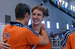 29-09-2002 ARG: World Championships Netherlands - Greece, Salta<br /> Joppe Paulides<br /> Griekenland - Nederland  0-3<br /> WORLD CHAMPIONSHIP VOLLEYBALL 2002 ARGENTINA<br /> SALTA / 29-09-2002