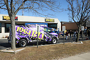 """Atmosphere at Shred Your Ex and Shred Chris Brown CDs and Posters for Pre-Valentines Day Bash held at WBLI Studios in West Babylon, Long Island on February 13, 2009..""""Shred Your Ex"""" party the day before Valentines Day. Radio Station WBLI has invited members of Rihanna's Fan Club and other fans across the nation to join the pop star's side along with .others who are """"unlucky in love.""""."""