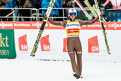 Winner Kamil Stoch (POL) // Kamil Stoch of Poland  celebrates after the 2nd Round of the Ski Flying Hill Individual Competition at Day 2 of FIS Ski Jumping World Cup Final 2018, on March 23, 2018 in Planica, Slovenia. Photo by Vid Ponikvar / Sportida