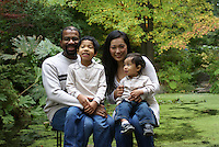 Family Portrait, Arboretum, Seattle