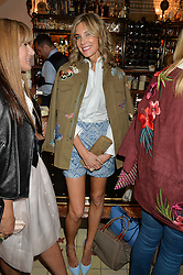 KIM HERSOV at a dinner hosted by Kate Spade NY to celebrate Chelsea in Bloom held at Daphne's, 112 Draycott Avenue, London on 20th May 2015.