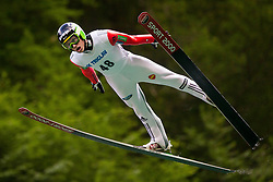 Andraz Pograjc during Ski Jumping Continental Cup, on July 7th, Kranj, Slovenia. Photo by Ziga Zupan / Sportida