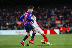 January 30, 2019 - Barcelona, Spain - FC Barcelona midfielder Philippe Coutinho (7) during the match FC Barcelona v Sevilla CF, for the round of 8, second leg of the Copa del Rey played at Camp Nou  on 30th January 2019 in Barcelona, Spain. (Credit Image: © Mikel Trigueros/NurPhoto via ZUMA Press)