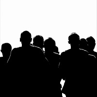 Nederland, Amsterdam. 19-11-2003.<br /> Atletiek, Marathon Amsterdam.<br /> De kopgroep bestaande uit louter Kenianen.<br /> De Kenianen werden dan ook 1 t/m 5. De 6e plaats was voor de Nederlander Kamiel Maasse die tevens een nieuw Nederlands record liep van 2 uur 31 minuten.<br /> Foto: Klaas Jan van der Weij.