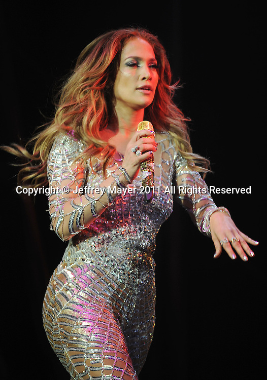 LOS ANGELES, CA - MAY 14: Jennifer Lopez performs at KIIS FM's 2011 Wango Tango Concert at Staples Center on May 14, 2011 in Los Angeles, California.
