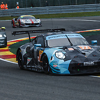 #77, Dempsey-Proton Racing, Porsche 911 RSR, LMGTE Am, driven by: Christian Ried, R. Pera, Matt Campbell at FIA WEC Spa 6h 2019 on 04.05.2019 at Circuit de Spa-Francorchamps, Belgium