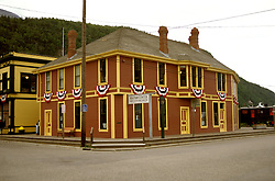 AK: Skagway, Alaska, Klondike Gold Rush National Historic Park.Photo Copyright: Lee Foster, lee@fostertravel.com, www.fostertravel.com, (510) 549-2202.Image: akklon202 .