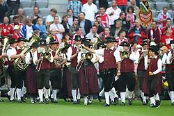 24.09.2011, Allianz Arena, Muenchen, GER, 1.FBL,  FC Bayern vs Bayer 04 Leverkusen, im Bild Blasmusik bei den Bayern // during the  FC Bayern vs Bayer 04 Leverkusen, on 2011/09/24, Allianz Arena, Munich, Germany, EXPA Pictures © 2011, PhotoCredit: EXPA/ nph/  Straubmeier       ****** out of GER / CRO  / BEL ******