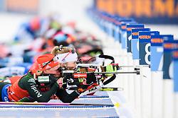March 16, 2019 - –Stersund, Sweden - 190316 Franziska Hildebrand of Germany competes in the Women's 4x6 km Relay during the IBU World Championships Biathlon on March 16, 2019 in Östersund..Photo: Petter Arvidson / BILDBYRÃ…N / kod PA / 92268 (Credit Image: © Petter Arvidson/Bildbyran via ZUMA Press)