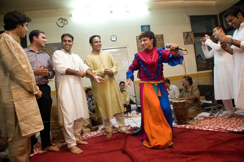 A Kashmiri Pandit wedding in India. November 2008