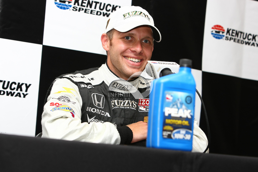 Photos from team Fuzzy's Vodka at Kentucky Indy 300 at the Kentucky Speedway..Corporate event photography by Infinity Images