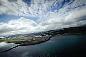 Wellington Airport from the air
