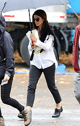 November 9, 2016 - New York, New York, United States - Actress Sandra Bullock was on the Brooklyn set of the new movie 'Ocean's Eight' on November 9 2016 in New York City  (Credit Image: © Zelig Shaul/Ace Pictures via ZUMA Press)
