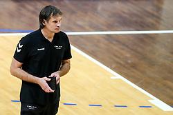 Gregor Jeroncic, head coach of Calcit Kamnik during volleyball match between ACH Volley Ljubljana and Calcit Kamnik in Mevza League 2020/21, on October 17, 2020 in Hala Tivoli, Ljubljana, Slovenia. Photo by Matic Klansek Velej / Sportida
