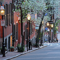 Romantic Boston cityscape photography of old colonial brick row houses along Pinckney Street on a beautiful spring evening. Cherry blossom blowing in the wind while the lanterns provide the warm city street night light in Beacon Hill.<br /> <br /> This Boston spring photography picture of a street in Beacon Hill is available as museum quality photography prints, canvas prints, acrylic prints or metal prints. Prints may be framed and matted to the individual liking and decorating needs:<br /> <br /> http://juergen-roth.artistwebsites.com/featured/boston-swan-boats-juergen-roth.html<br /> <br /> All photographs are available for digital and print use at www.ExploringTheLight.com. Please contact me direct with any questions or request.<br /> <br /> Good light and happy photo making! <br /> <br /> Juergen <br /> www.rothgalleries.com <br /> www.exploringthelight.com<br /> http://whereintheworldisjuergen.blogspot.com<br /> @NatureFineArt<br /> https://www.facebook.com/naturefineart