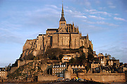 Le Mont St. Michel, France.