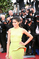 Freida Pinto at the gala screening of the film De rouille et d'os at the 65th Cannes Film Festival. Thursday 17th May 2012, the red carpet at Palais Des Festivals in Cannes, France.