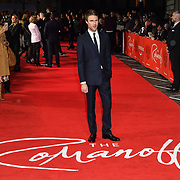 Hugh Skinner attend The Romanoffs - World Premiere at CURZON MAYFAIR, London, Uk. 2nd October 2018.