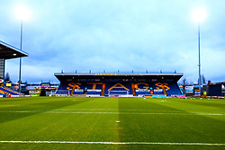 A general view of the One Call Stadium, home to Mansfield Town - Mandatory by-line: Ryan Crockett/JMP - 18/03/2019 - FOOTBALL - One Call Stadium - Mansfield, England - Mansfield Town v Lincoln City - Sky Bet League Two