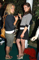 Left to right, LAUREN SCOTT and KATE SUMNER daughter of Sting at a party to celebrate the launch of the new Matthew Williamson fragrance held at Harvey Nichols, Knightsbridge, London on 14th June 2005.<br /><br />NON EXCLUSIVE - WORLD RIGHTS