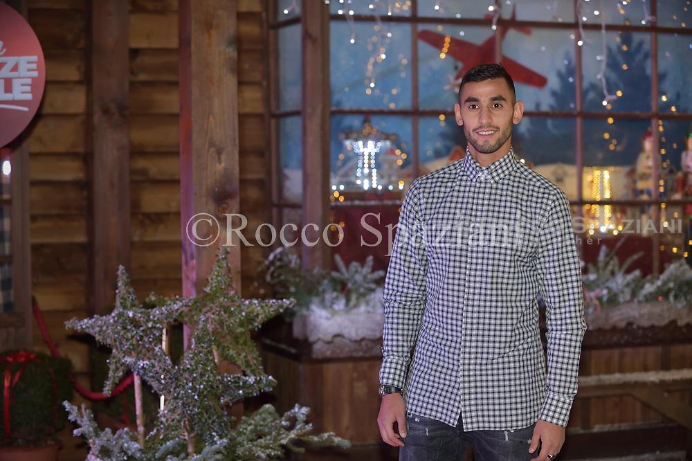 Faouzi Ghoulam Super Vacanze di Natale premiere, Red carpet, Rome, Italy - 12 Dec 2017
