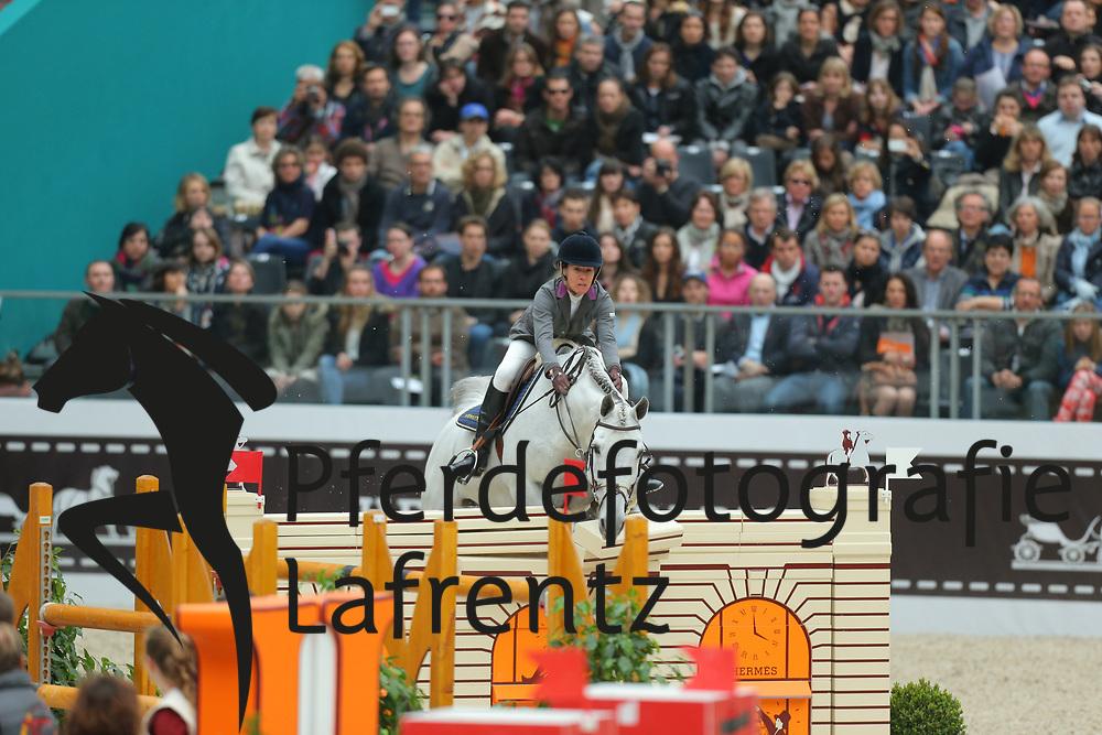 Diniz, Luciana, Winningmood<br /> Paris - Saut Hérmes 2013<br /> © www.sportfotos-lafrentz.de/Stefan Lafrentz
