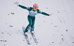 31.12.2019, Olympiaschanze, Garmisch Partenkirchen, GER, FIS Weltcup Skisprung, Vierschanzentournee, Garmisch Partenkirchen, Qualifikation, im Bild Jan Hoerl (AUT) // Jan Hoerl of Austria during his qualification Jump for the Four Hills Tournament of FIS Ski Jumping World Cup at the Olympiaschanze in Garmisch Partenkirchen, Germany on 2019/12/31. EXPA Pictures © 2019, PhotoCredit: EXPA/ JFK