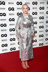 Rose McGowan attending the GQ Men of the Year Awards 2018 at the Tate Modern, London. Picture credit should read: Doug Peters/Empics