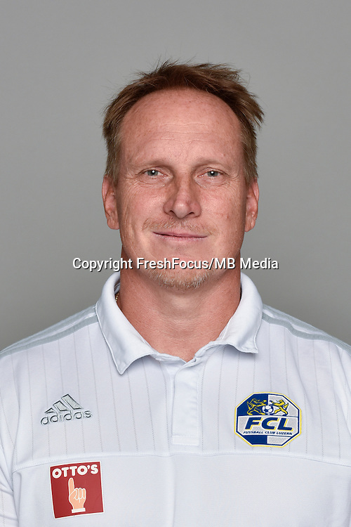 15.07.2016; Luzern; Fussball - FC Luzern;<br />Konditionstrainer Christian Schmidt (Luzern)<br />(Martin Meienberger/freshfocus)