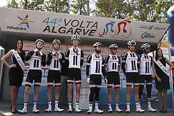February 14, 2018 - Lagos, Portugal - Team Sunweb before the 1st stage of the cycling Tour of Algarve between Albufeira and Lagos, on February 14, 2018. (Credit Image: © Str/NurPhoto via ZUMA Press)