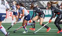 AMSTELVEEN - Ginella Zerbo (SCHC)  tijdens de hoofdklasse hockeywedstrijd dames, zonder publiek vanwege COVID-19, AMSTERDAM-SCHC (2-2). COPYRIGHT KOEN SUYK