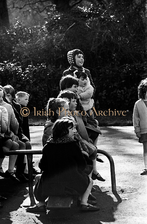 Children Playing at Stephens Green (Press Picture of the Year)..27.03.1968