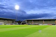 Pirelli Stadium during the EFL Sky Bet Championship match between Burton Albion and Birmingham City at the Pirelli Stadium, Burton upon Trent, England on 21 October 2016. Photo by Richard Holmes.