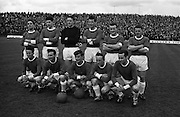 25/04/1965<br /> 04/25/1965<br /> 25 April 1965<br /> F.A.I. Cup Final: Shamrock Rovers v Limerick at Dalymount Park, Dublin. The Limerick team.
