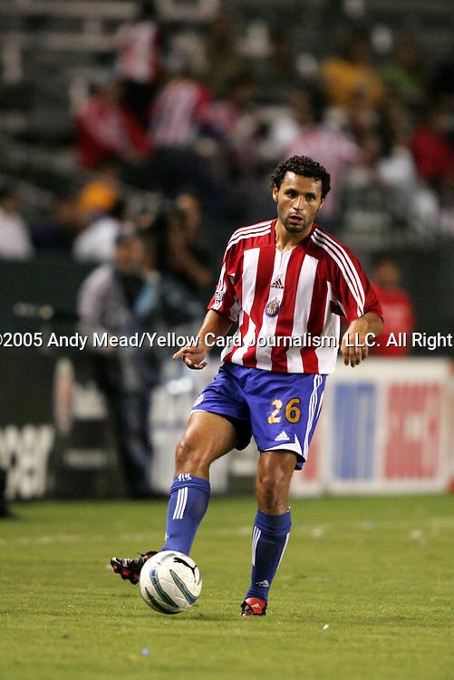 25 September 2005: Jesus Ochoa. The Los Angeles Galaxy defeated the Kansas City Wizards 2-1 at the Home Depot Center in Carson, California in a regular season Major League Soccer game.