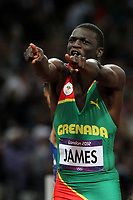 LONDON OLYMPIC GAMES 2012 - OLYMPIC STADIUM , LONDON (ENG) - 06/08/2012 - PHOTO : EDDY LEMAISTRE / KMSP / DPPI<br /> ATHLETICS - MEN 400 M - FINAL - KIRANI JAMES (GRN)
