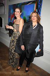 Left to right, LADY PALUMBO and architect ZAHA HADID at the Royal Academy of Art's Summer Ball held at Burlington House, Piccadilly, London on 16th June 2008.<br /><br />NON EXCLUSIVE - WORLD RIGHTS