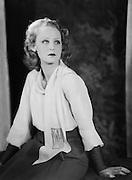 Brigitte Helm, actress, UFA Studios, Germany, 1928