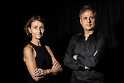 Chorus Theatre Directors pose for a portrait in Hong Kong, China, on 3 May 2021. Photo by Lucas Schifres/Studio EAST
